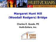 Margaret Hunt Hill (Woodall Rodgers) Bridge - Ferguson Structural ...