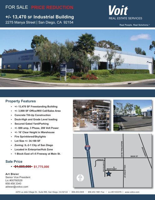 2275 Manya Street_1-5-12.pdf - Voit Real Estate Services