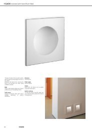 I Calchi recessed with frame/flush-fitted - Martini