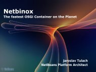 Netbinox - EclipseCon