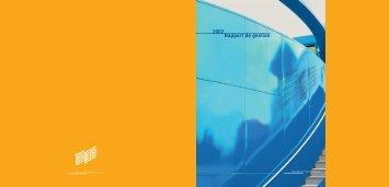 Rapport de gestion 2002 (download PDF) - Groupe Baumgartner ...