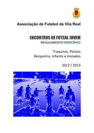 Regulamento - Associação de Futebol de Vila Real