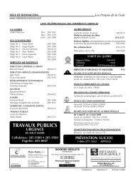 Volume 6, Numéro 02, Février 2008 - Ville de Donnacona