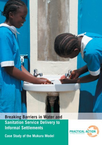 Breaking barriers in water and sanitation service ... - Practical Action