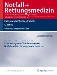 Schulz C, Zanner R, Krautheim V, Kochs EF, Schneider G - Klinik für ...
