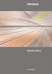 Ultrafine Wires