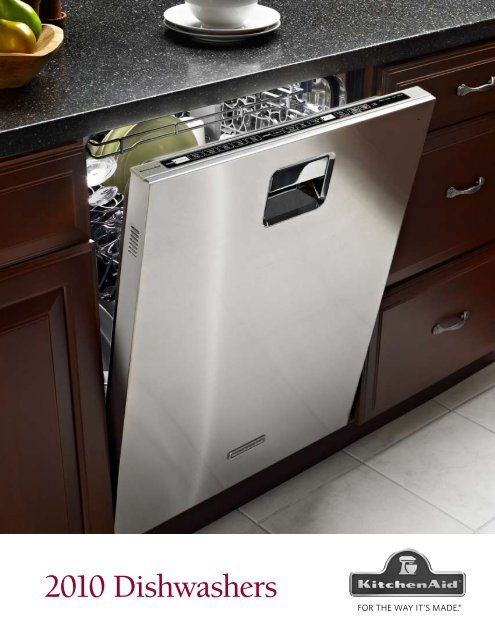 KitchenAid Dishwasher Brochure - Advancerefrigeration.com