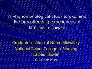 A Phenomenological study to examine the breastfeeding ...