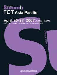 Angioplasty Summit 2007-TCT Asia Pacific PDF Download - tctap