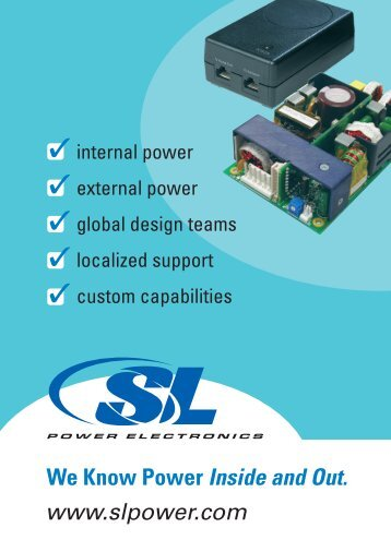 SL Power Brochure - Fortec AG