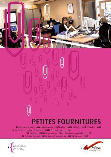 PETITES FOURNITURES - Deroanne