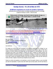 Guidaje (Guiné) - 10 a 26 de Maio de 1973 - Ultramar - Terraweb.biz