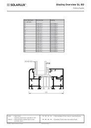 Glazing Overview SL 80 - Lito Byg A/S
