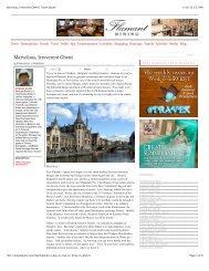 Marvelous, Irreverent Ghent | Travel Squire - Visit Gent