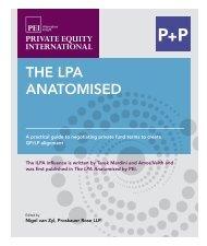 The LPA AnATomised - P+P Pöllath + Partners