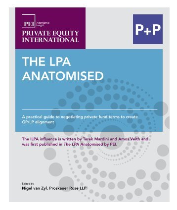 The LPA AnATomised - P+P Pöllath + Partners
