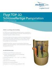 Flygt TOP 3D Schlüsselfertige Pumpstation - Water Solutions