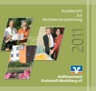 Kurzbericht 2010.pdf - Raiffeisenbank Grafschaft-Wachtberg eG