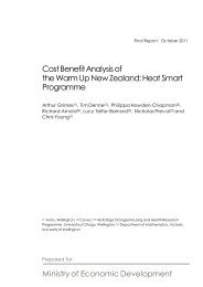 Cost Benefit Analysis of the Warm Up New Zealand: Heat Smart ...
