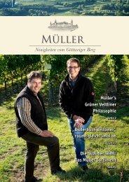 Neuigkeiten vom Göttweiger Berg 01/2013 - Weingut Müller