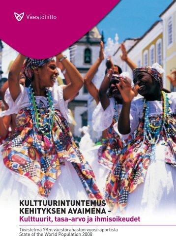 Kulttuurintuntemus kehityksen avaimena. V - Väestöliitto