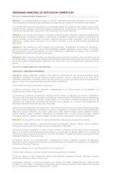 ordenanza municipal de vertidos no domesticos - Ayuntamiento de ...