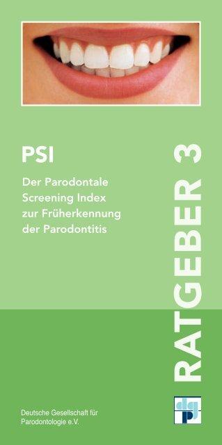 RA TGEBER 3 - Deutsche Gesellschaft für Parodontologie