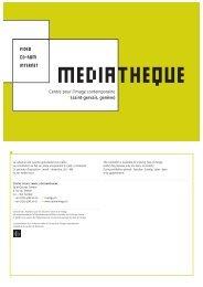 Catalogue - édition papier 2003 - Centre pour l'image Contemporaine