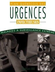 Plan québécois des urgences infectieuses - Gouvernement du ...
