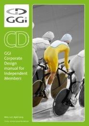 GGI Corporate Design manual for Independent Members