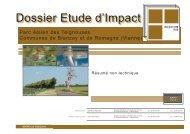 Résumé non technique de l'étude d'impact - Préfecture