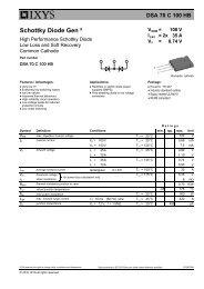 DSA 70 C 100 HB Schottky Diode Gen ²