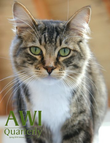 Quarterly - Animal Welfare Institute
