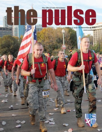 Vol. 5, Issue 15 11/08/10 - Uniformed Services University of the ...