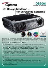 DS306i - Optoma Europe