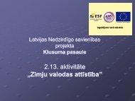 """2.13. aktivitāte """"Zīmju valodas attīstība"""" - Latvijas Nedzirdīgo savienība"""
