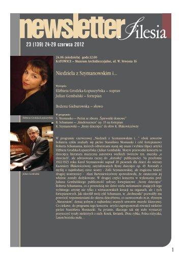 23 (139) 24-29 czerwca 2012 1 - Silesia
