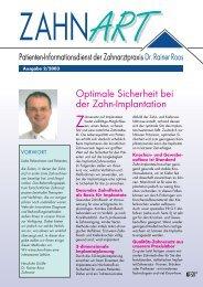PRGF - Fortschritt in der Zahnmedizin - Zahnarzt Dr. med. dent ...