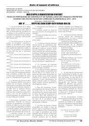 Journal 546_GABARIT.qxd - Ministère de l'économie et des finances