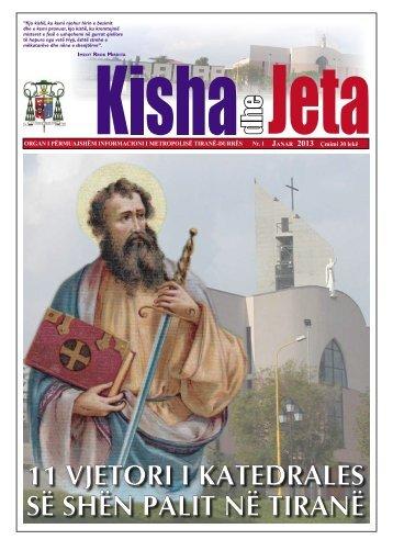 11 vjetori i katedrales së shën palit në tiranë - kishadhejeta.com