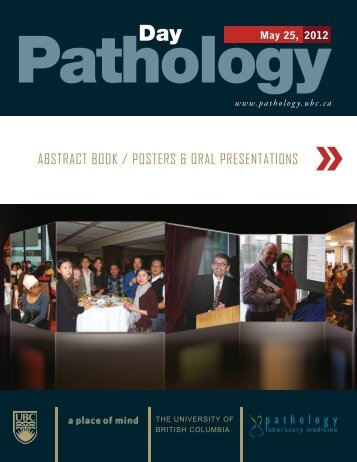 Abstract Book - Pathology and Laboratory Medicine - University of ...