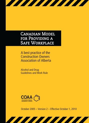Canadian Model - Construction Owners Association of Alberta