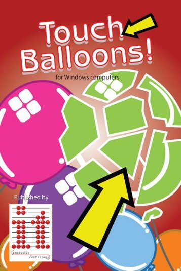 Touch Balloons Manual touch_balloons_it.pdf - Inclusive Technology