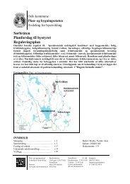 Sørbråten Planforslag til bystyret Reguleringsplan