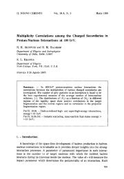 Multiplicity correlations among the charged secondaries in proton ...