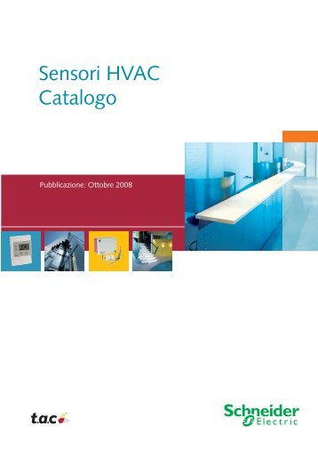 Sensori HVAC Catalogo - Schneider Electric