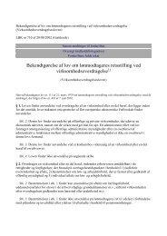Bekendtgørelse af lov om lønmodtageres retsstilling ved ...