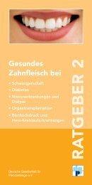 DGP Ratgeber 2 - Deutsche Gesellschaft für Parodontologie