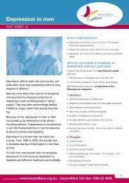 Fact sheet 12 - Depression in men.indd - nib