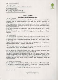 Vaccinations Votre enfant admis dans la Maison ... - Cesson-Sévigné